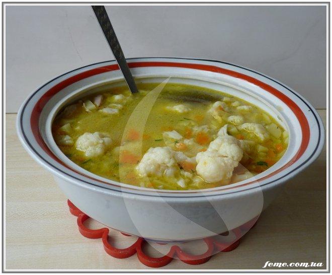можно ли варить суп из цветной капусты