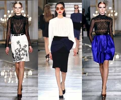 03dcb6838d8 Тенденции сезона весна-лето 2013  модные блузки и топы мода