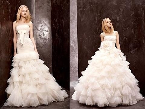 шикарные свадебные платья к пла цена