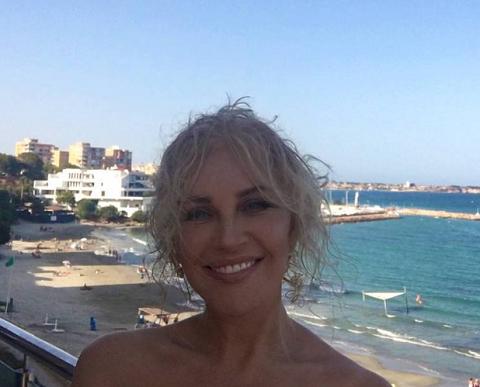 Таисия Повалий, фото, пляж