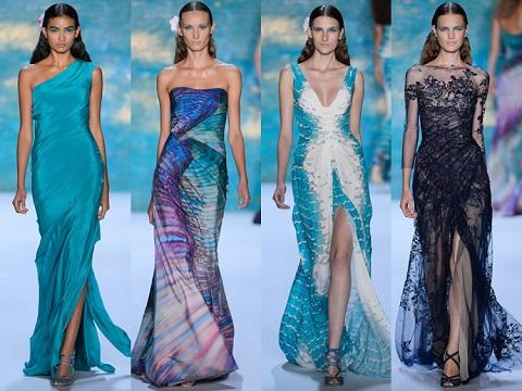 Модные вечерние платья этим летом