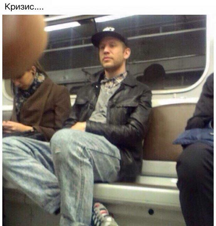Иван Дорн в метро