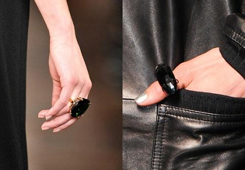 Модные кольца 2013