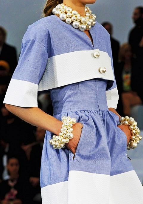 Модные ожерелья 2013