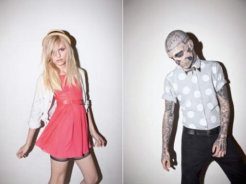 Зомби бой девушка