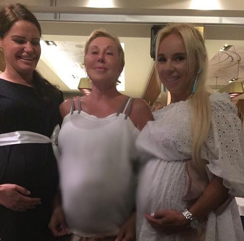 Любовь Успенская беременная