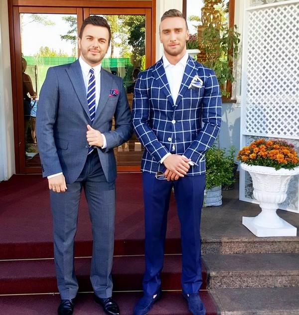 Иракли Макацария и Григорий Решетник