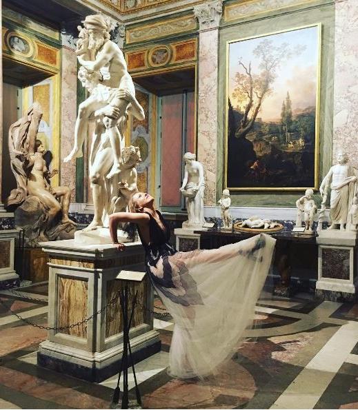 Ксения Собчак в Риме