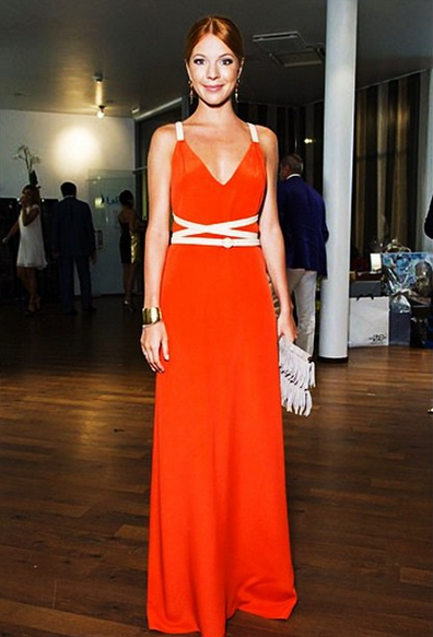 Наталья подольская платье