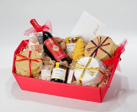 Корзина коробка для подарков своими руками