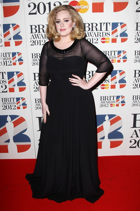 Адель BRIT Awards 2012