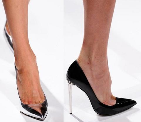 классические туфли-лодочки фото