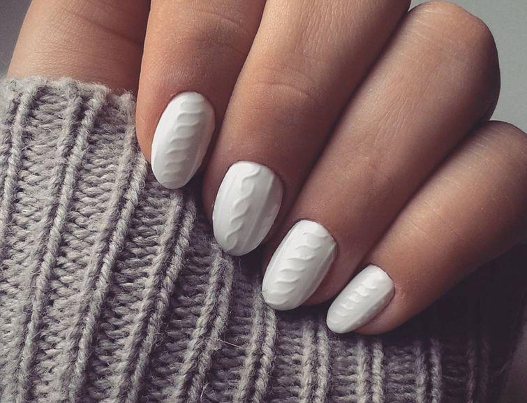 Фото ногти вязаные