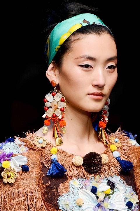 Модные серьги 2013
