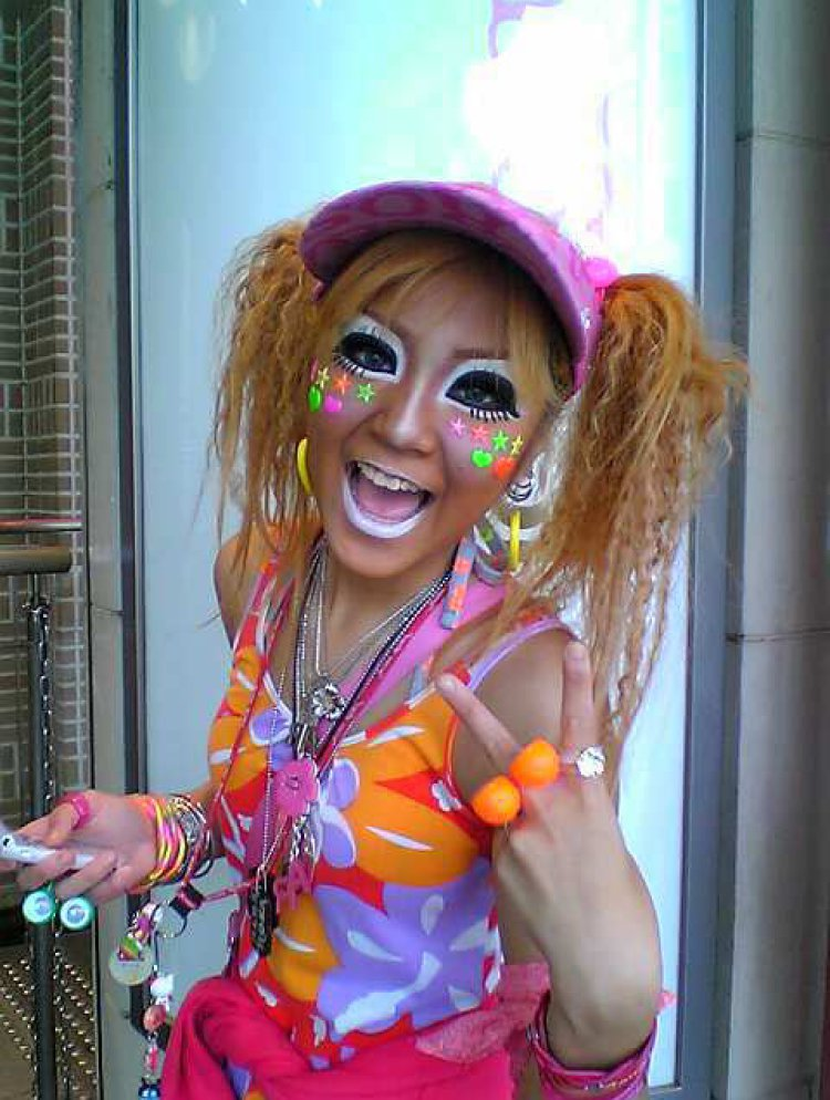 an analysis of the ganguro culture in japan