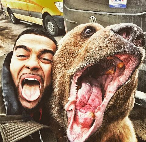 Тимати и медведь