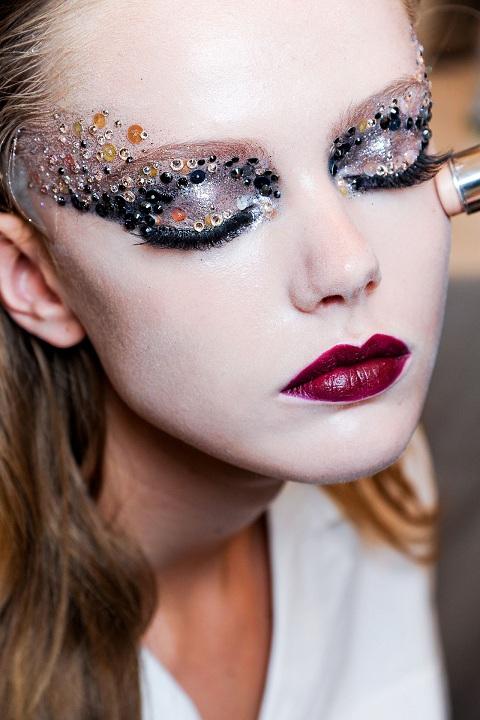 Подиумный макияж как сделать