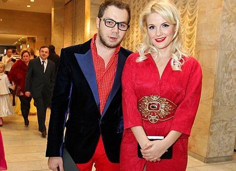 Андре Тан с женой