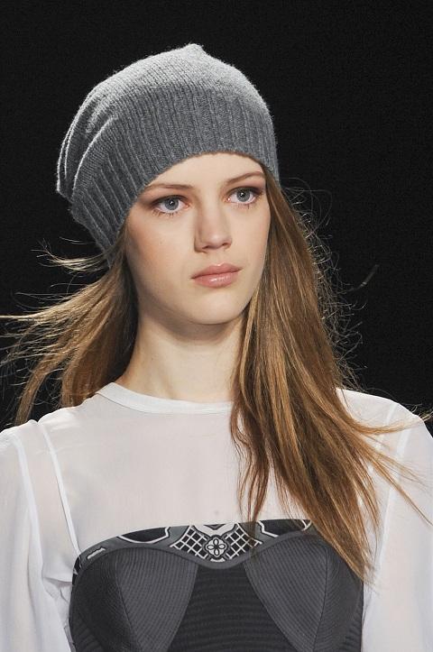 Схемы вязаных шапок зима 2015